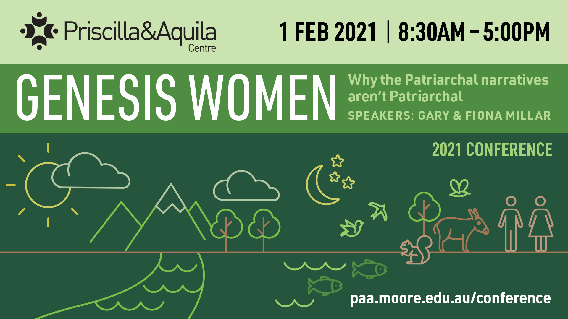 P&A 2021 conference: Genesis women
