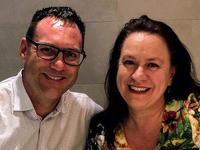 Simon and Margie Gilham