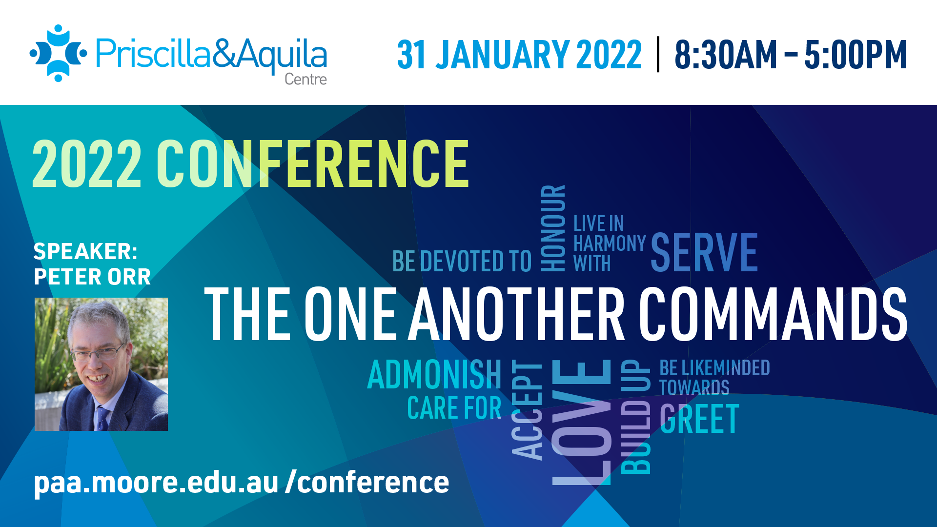 2022 Priscilla & Aquila annual conference: The one another commands